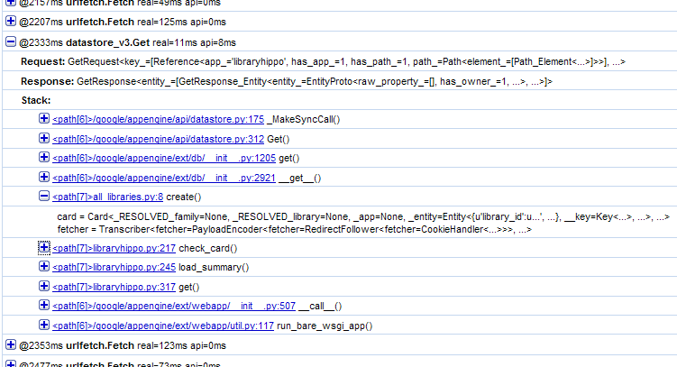 Detail of implicit datastore_v3.get call
